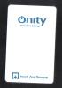 - HOTEL KEY CARD   (  QNITY )  NO.2 - Hotel Keycards