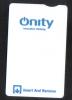 - HOTEL KEY CARD   (  QNITY )  NO.3 - Hotel Keycards