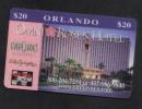 U.S.A. - HOTEL PHONE CARD   ( OMNI ROSEN HOTEL )    ORLANDO $20 - Hotel Keycards