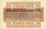"""Städte Großgeldscheine - Banknoten Während Der Inflationszeit V. 1923 Dortmund-Hörde 5 Millionen  """"NOTGELD"""" (156) - [ 3] 1918-1933 : Weimar Republic"""