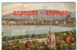 GENEVE - La Rade Et Le Monument Brunswick - Carte Aquarellée - Dos Scané - GE Genève