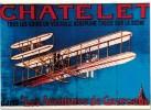 Thème - Transport - Avion - Chatelet - Aéroplane Dans Les Aventures De Gavroche - Nos Transports En 1900 - Avions