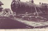 CONTICH = Terrible Accident De Chemin De Fer - La Locomotive Du Train Transporteur  (1908) - België