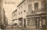 Gembloux Rue Notre Dame Aux Armes De Gembloux G. Boulle Libraire Vendeur De Cartes Postales 1911 - Gembloux