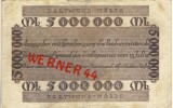 """Städte Großgeldscheine - Banknoten Während Der Inflationszeit V. 1923 Dortmund-Hörde 5 Millionen  """"NOTGELD"""" (191) - [ 3] 1918-1933 : Repubblica  Di Weimar"""