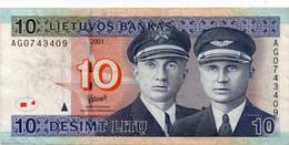 * LITHUANIA 10 LITU 2007 UNC P 68 - Lituania