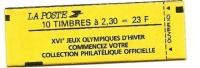 1989 - Francia Libr. 2606a Marianna, - Libretti
