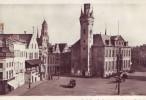 LIER = Carte Photo =  Grand'Place Et Hôtel De Ville (vierge) - Lier
