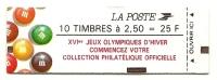 1991 - Francia Libr. 2705b Marianna - Pubblicitario, - Libretti