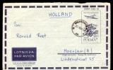 COVER / AIRLETTER * POSTAL STATIONERY POLAND SENT TO HOLLAND * 1961 - 1944-.... República