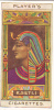 PLAYERS EGYPTIAN KINGS & QUEENS AND CLASSICAL DEITIES CARD No 08 KING SETI - Player's