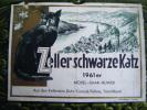 Etiquette De Vin -zeller Schwarzekatz-1961 Mosel Saar Ruwer- - Publicités