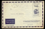 COVER / AIRLETTER * POSTAL STATIONERY POLAND SENT TO HOLLAND * 1957 - 1944-.... Repubblica