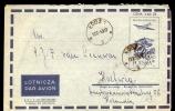 COVER / AIRLETTER * POSTAL STATIONERY POLAND SENT TO HOLLAND * 1959 - 1944-.... República