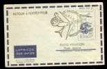COVER / AIRLETTER * POSTAL STATIONERY POLAND SPECIAL CANCELLATION * AIR FRANCE 1st FLIGHT 1959 - 1944-.... Repubblica