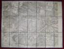 Carte Toilée Forêt De Fontainebleau - Cartes Géographiques