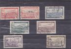 ALGERIE : Avion Survolant La Rade D'Alger  : O : Y&T : PA 1 à 6 Sauf Le 4A - Algérie (1924-1962)