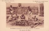 20751 Inde Rajputana -brahme Accomplit Rites Crémation Defunt. Capucins Francias Mission Sacré Coeur. Deo Gratias - Inde