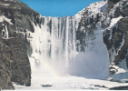 Iceland Waterfall Skogafoss Modern Card #14189 - Iceland