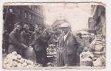 20758 Photo (attention Abimée)  Marché Militaire Pomme De Terre ? 10x6 Cm
