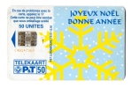 TELECARTE  LUXEMBOURG  50 Unites  Joyeux Noel  Bonne Annee - Luxemburg