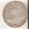 MONEDA DE PLATA DE BOLIVIA DE 8 SOLES DEL AÑO 1839 (COIN) SILVER,ARGENT. - Bolivia