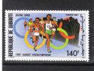 "Gibuti   -   1987.  Pre- Olympics  "" Seul '88 "".  Race Fund.   MNH, Fresh - Summer 1988: Seoul"
