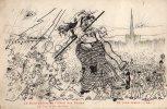 Illustration Signée Mugnier Le Réferundum De L'Hôtel Des Postes Je Veux Rester Na... Politique Caricature Satirique - Autres Illustrateurs
