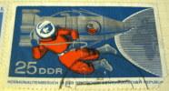 Germany 1965 Space Walk Leonov 25pf - Used - Used Stamps