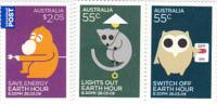 Australia.....:   2009 Earth Hour Set MNH - 2000-09 Elizabeth II