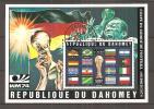 COUPE DU MONDE DE FOOTBALL ALLEMAGNE 1974 Dentele Etat Obl - Coppa Del Mondo