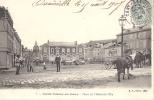 76 SAINT VALERY EN CAUX 1907 PLACE DE L'HOTEL DE VILLE ANIMEE CIRQUE FORAINS ED BF 7 TBE - Saint Valery En Caux