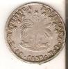 MONEDA DE PLATA DE BOLIVIA DE 4 SOLES DEL AÑO 1855  (COIN) SILVER,ARGENT. - Bolivia