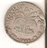 MONEDA DE PLATA DE BOLIVIA DE 4 SOLES DEL AÑO 1854  (COIN) SILVER,ARGENT. - Bolivia
