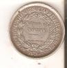 MONEDA DE PLATA DE BOLIVIA DE 50 CENTIMOS DEL AÑO 1895 LETRAS E.S. (COIN) SILVER,ARGENT. - Bolivia