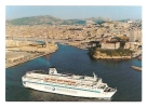 Br8.i- Paquebot DANIELLE CASANOVA CORSE CORSICA Transmediterraneenne SNCM Ferryterranee - Paquebots
