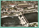 SAINT LEGER Des VIGNES (Nièvre) Vue Aérienne Du Stade (Centre Fresneau) Et Du Barrage // STADIUM - Sonstige Gemeinden