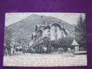 HOTEL DE L UNIVERS LUZ CPA PRECURSEUR TYPE NUAGES DE 1904
