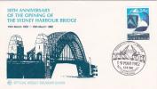 Australia 1982 50th Anniversary Opening Sydney Harbour Bridge WCS FDC - FDC