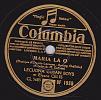 78 Tours - Columbia DF 1930 - LECUONA CUBAN BOYS Et Elyane CELIS - MARIA LA O - TENDRE BOLERO - 78 Rpm - Schellackplatten