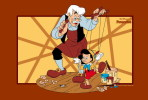 [NZ26-075 ]  Fairy Tale The Adventures Of  Pinocchio Disney  , Postal Stationery -- Articles Postaux -- Postsache F - Cuentos, Fabulas Y Leyendas