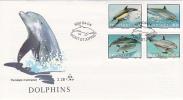 Transkei 1991 Dolphins FDC - Transkei