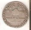 MONEDA DE PLATA DE BOLIVIA DE 2 SOLES DEL AÑO 1830  (COIN) SILVER,ARGENT. - Bolivia
