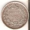 MONEDA DE PLATA DE BOLIVIA DE 20 CENTAVOS DEL AÑO 1888  (COIN) SILVER,ARGENT. - Bolivia