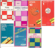 7 PLANS RATP 1977 - 1970 - 1982 - 1991 - Europe