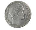 France -   20 Francs - Turin - 1927 -  TTB+ - Ar. - L. 20 Franchi