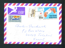 SOUTH AFRICA  -  1995  Cover To Kuwait As Scan - South Africa (1961-...)
