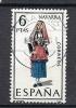 "1578  (OBL)  Y  &  T  ""Costume Navarra""   *ESPAGNE* - 1961-70 Usati"