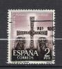 """1069  (OBL)  Y  &  T  """"La Croix Des Anges""""   *ESPAGNE* - 1961-70 Usati"""