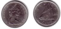 CANADA, Elizabeth II - 10 Cents 1970 - KM#77.1 Unc - Canada